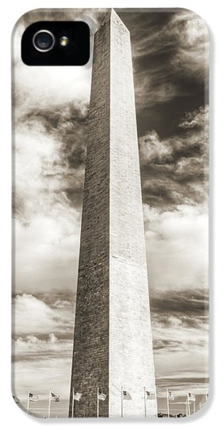 Washington Monument iPhone 5 Case - Washington Monument by Dustin K Ryan