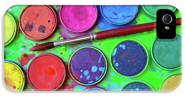 Watercolor Palette IPhone 5 Case