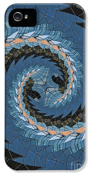 IPhone 5 Case featuring the photograph Wave Mosaic. by Clare Bambers