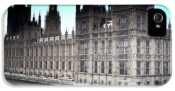 Westminster, London 2012 | #london IPhone 5 Case by Abdelrahman Alawwad