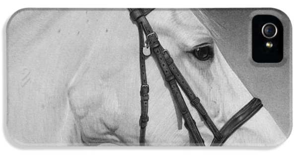 White Horse IPhone 5 Case
