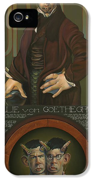 Willie Von Goethegrupf IPhone 5 Case by Patrick Anthony Pierson