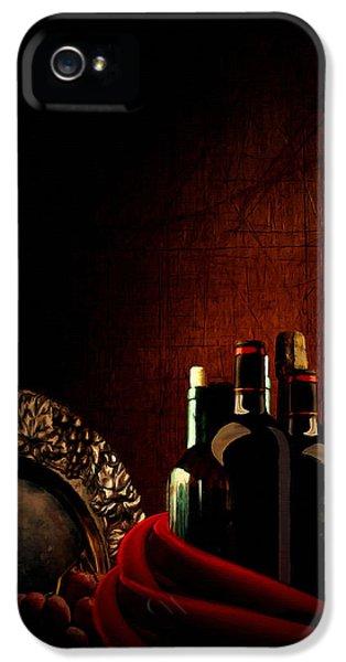 Wine Break IPhone 5 Case by Lourry Legarde