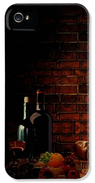 Wine Lifestyle IPhone 5 Case by Lourry Legarde