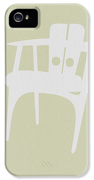 Wooden Chair IPhone 5 Case by Naxart Studio