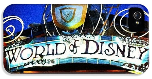 Bright iPhone 5 Case - World Of Disney by Lea Ward