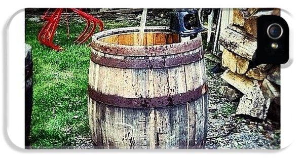 Ohio iPhone 5 Case - Ye Olde Water Pump by Natasha Marco