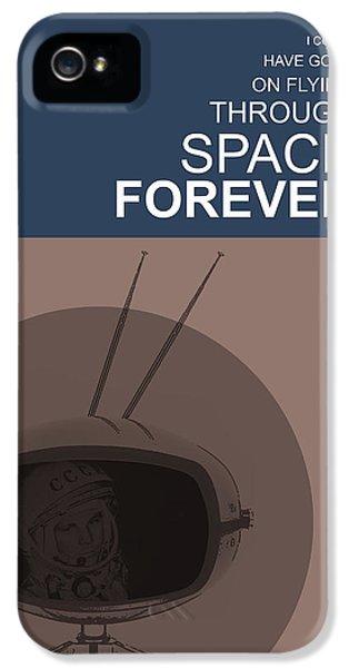 Yuri Gagarin Poster IPhone 5 Case by Naxart Studio