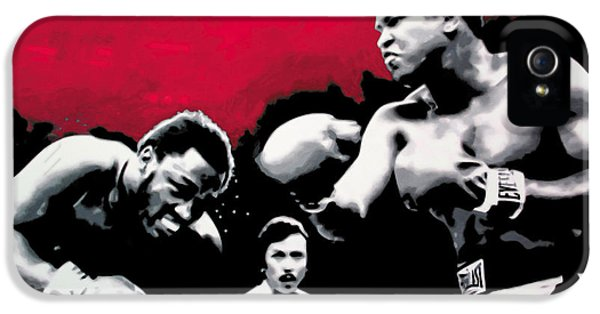 - Ali Vs Fraser - IPhone 5 Case by Luis Ludzska