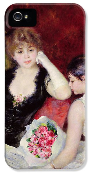 Curtain iPhone 5 Cases -  At the Concert iPhone 5 Case by Pierre Auguste Renoir