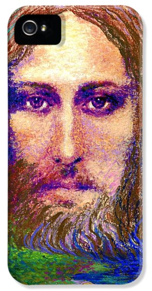 Contemporary Jesus Painting, Chalice Of Life IPhone 5 Case
