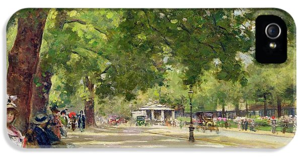 Hyde Park - London IPhone 5 / 5s Case by Count Girolamo Pieri Nerli