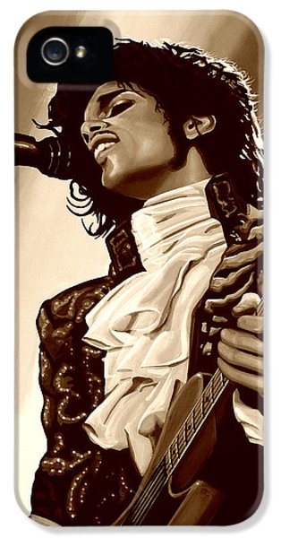 Prince The Artist IPhone 5 Case by Paul Meijering