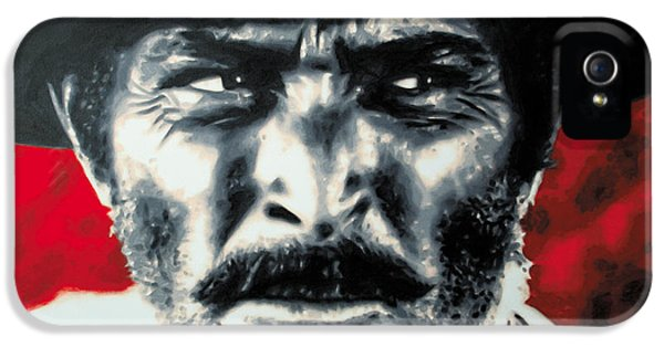 - The Good The Bad And The Ugly - IPhone 5 Case by Luis Ludzska