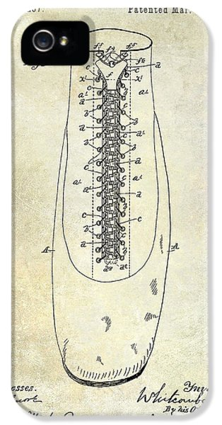 1896 Shoe Patent  IPhone 5 Case