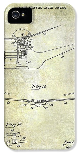 1947 Helicopter Patent IPhone 5 Case