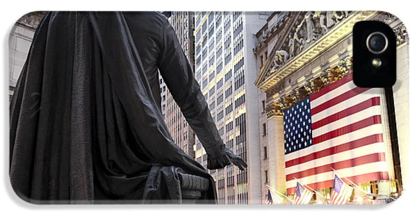 A Bronze Statue Of George Washington IPhone 5 Case