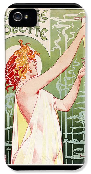Absinthe Robette IPhone 5 / 5s Case by Henri Privat-Livemont