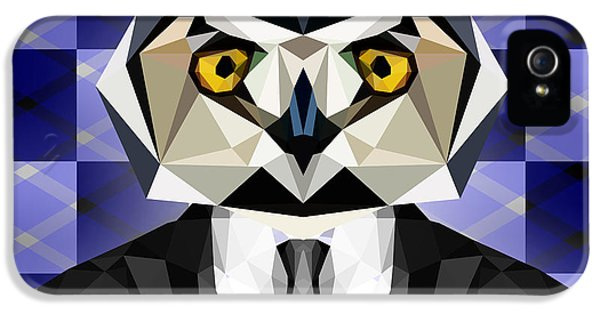 Abstract Owl IPhone 5 Case