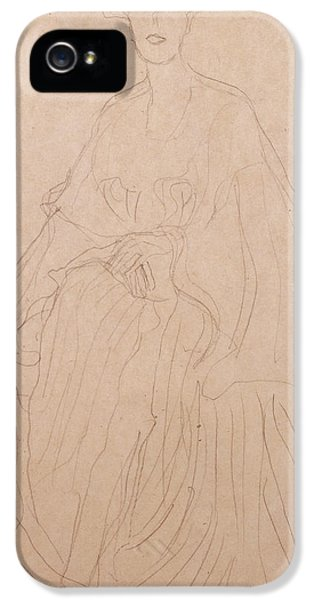 Adele Bloch Bauer IPhone 5 Case by Gustav Klimt