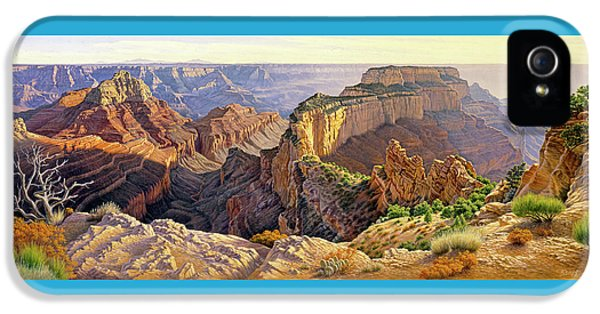 Afternoon-north Rim IPhone 5 Case by Paul Krapf