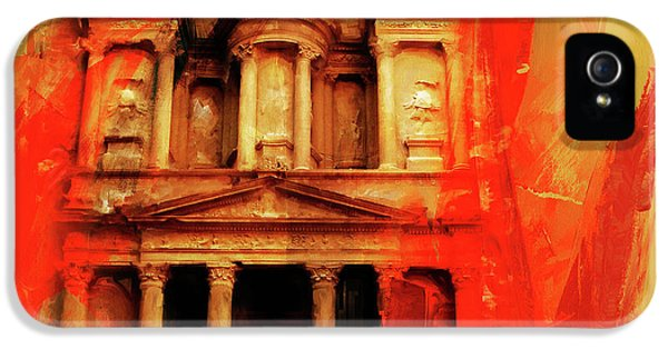 Al Khazneh Petra  Jordan IPhone 5 Case