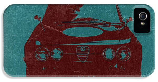 Alfa Romeo Gtv IPhone 5 Case by Naxart Studio