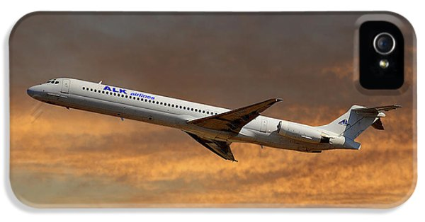 Alk Airlines Mcdonnell Douglas Md-82 IPhone 5 Case