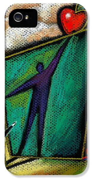 Ambition IPhone 5 Case by Leon Zernitsky