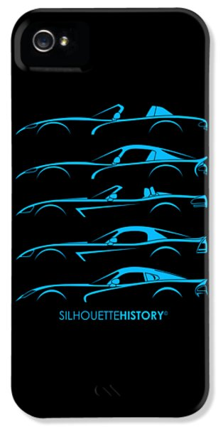 American Snakes Silhouettehistory IPhone 5 Case