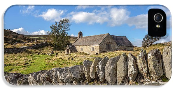 Ancient Welsh Church IPhone 5 Case by Adrian Evans