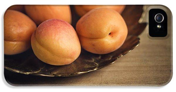 Orange iPhone 5 Case - Apricots by Nailia Schwarz
