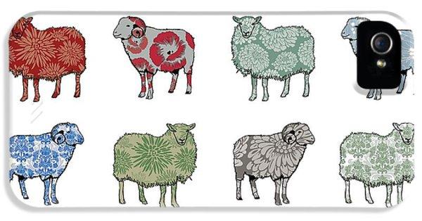 Sheep iPhone 5 Case - Baa Humbug by Sarah Hough