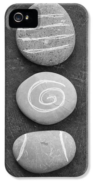 Rock Art iPhone 5 Cases - Balance iPhone 5 Case by Linda Woods