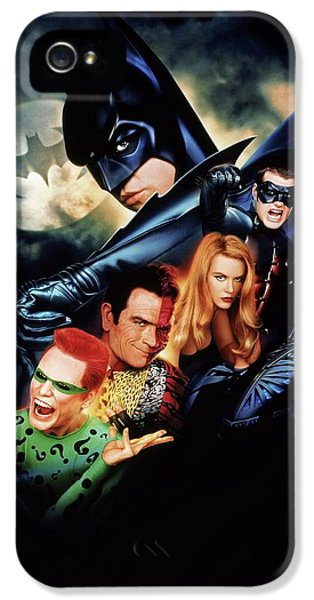 Batman Forever 1995  IPhone 5 Case by Caio Caldas