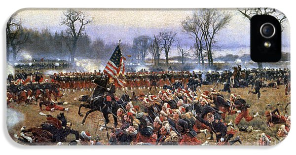 Smoke iPhone 5 Cases - Battle Of Fredericksburg iPhone 5 Case by Granger