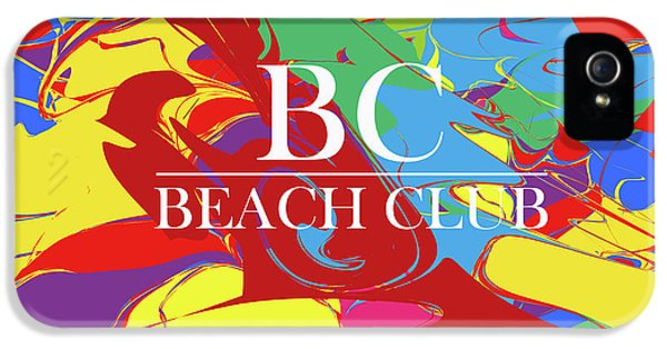 Lugano Beach Club M1 IPhone 5 Case by Johannes Murat