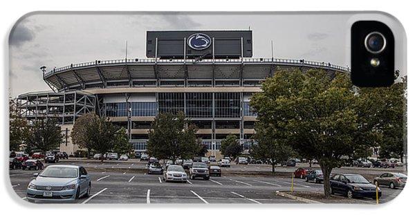 Beaver Stadium Penn State  IPhone 5 Case by John McGraw