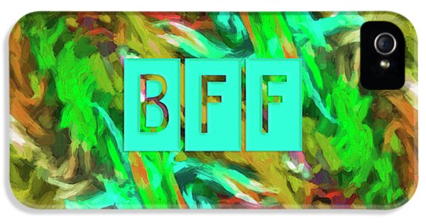 Best Friends Forever IPhone 5 / 5s Case by Bonnie Bruno