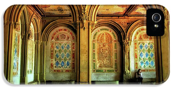 IPhone 5 Case featuring the photograph Bethesda Terrace Arcade by Jessica Jenney