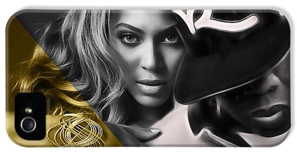 Beyonce Jay Z Collection IPhone 5 Case by Marvin Blaine
