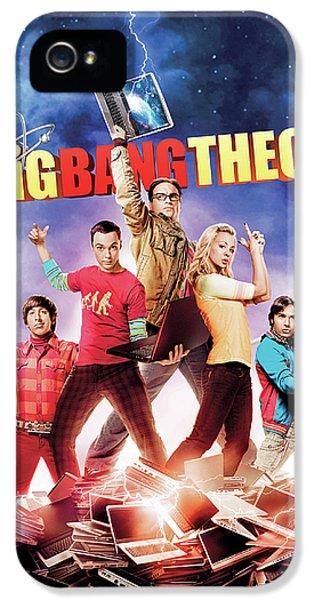 Big Bang Theory 2007 IPhone 5 Case by Caio Caldas