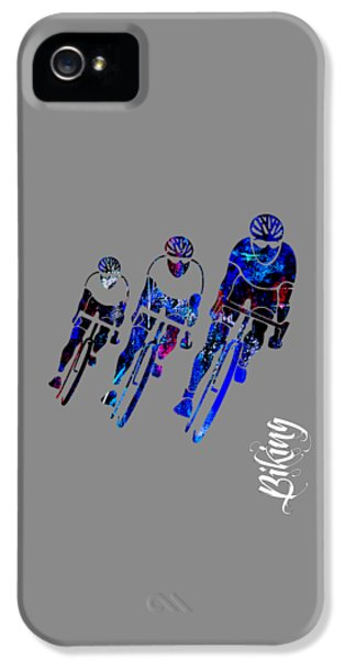 Bike Race IPhone 5 Case by Marvin Blaine