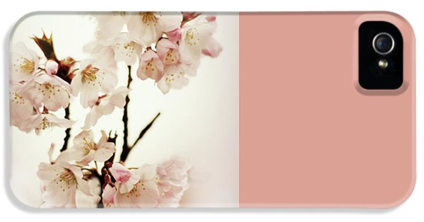 IPhone 5 Case featuring the photograph Blushing Blossom by Jessica Jenney