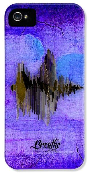 Breathe Spoken Soundwave IPhone 5 Case