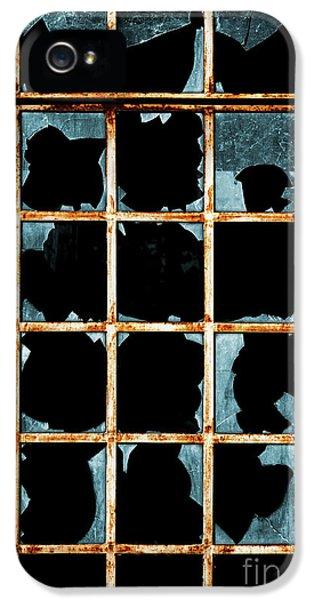 Broken Window IPhone 5 Case by Carlos Caetano