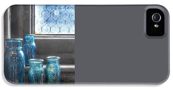 Bromo Seltzer Vintage Glass Bottles  IPhone 5 Case
