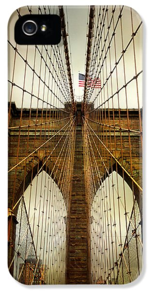 Brooklyn Bridge Twilight IPhone 5 Case