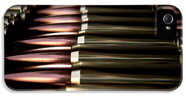 Bullet Array IPhone 5 Case by Allan Swart