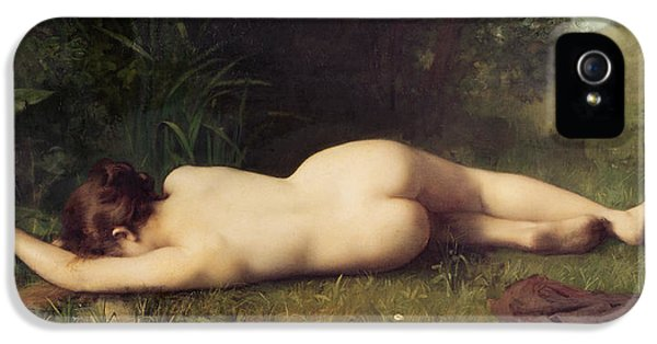 Byblis Turning Into A Spring IPhone 5 Case by Jean-Jacques Henner